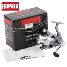 Rapala Brand MU4i Aluminum Spool 5 Ball Bearings Metal Spinning Fishing Reel with anti-reverse 1000 2000 3000 4000