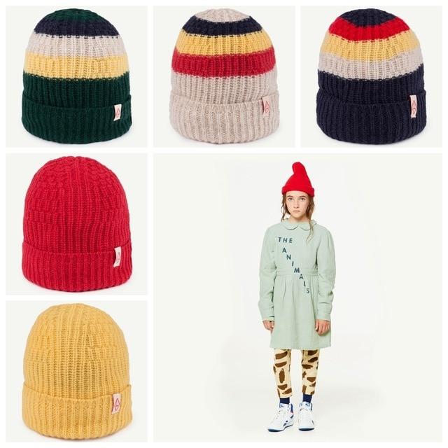 2018 nuevo llega el TAO marca sombrero niños niñas invierno de ...