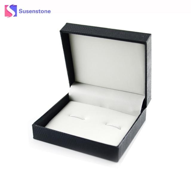 Cufflinks Box High Quality Black Cufflinks Gift Box Jewelry Casket