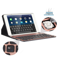 10 5 Inch Aluminum Alloy Ultra Slim Bluetooth Wireless Keyboard For IPad Pro Gaming Keybaord Leather