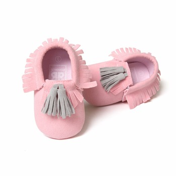 Grind Arenacous Tassel Baby Shoes 2017 New Design Infant Toddler Soft Sole Delebao Brand Boy Wholesale First Walkers