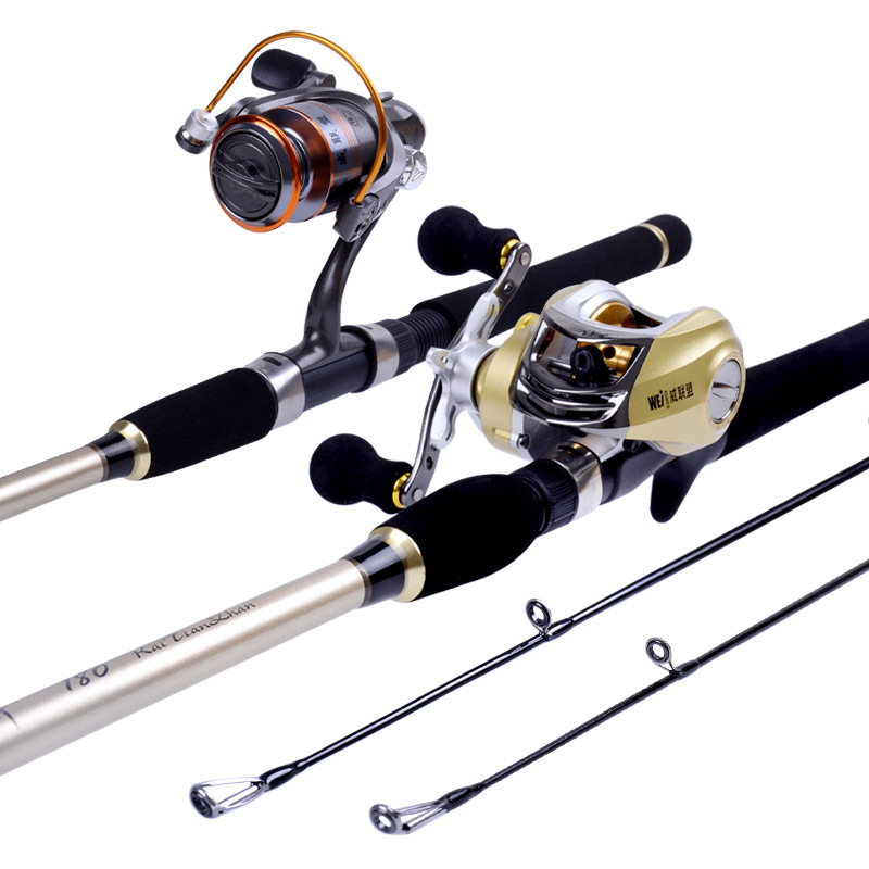 High Quality Lure Rod Set H Tone Superhard Pit Road Telescopic Fishing Rod Distance Throwing Fishing Rod Casting/spinning Canes