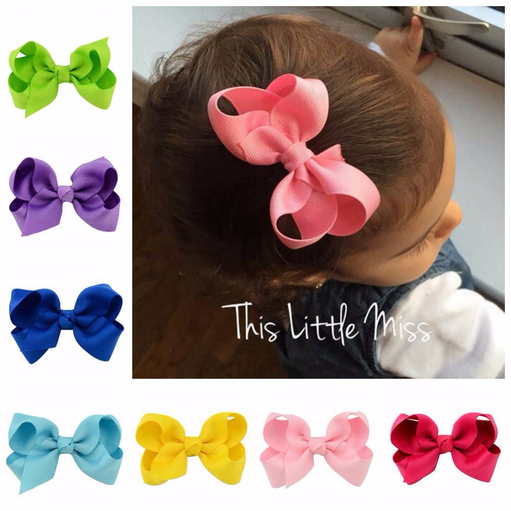 1PCS Solid Elegant Headband Girl Headwear Bow Hairpin For Girls,Hair Band For Kids Claws DIY Bowknot Headwear Hair Accessories 8 pieces children hair clip headwear cartoon headband korea girl iron head band women child hairpin elastic accessories haar pin