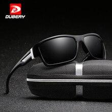 DUBERY, мужские поляризованные солнцезащитные очки, авиационные, спортивные, солнцезащитные очки для мужчин, для рыбалки, вождения,, фирменный дизайн, на молнии, коробка, 2071