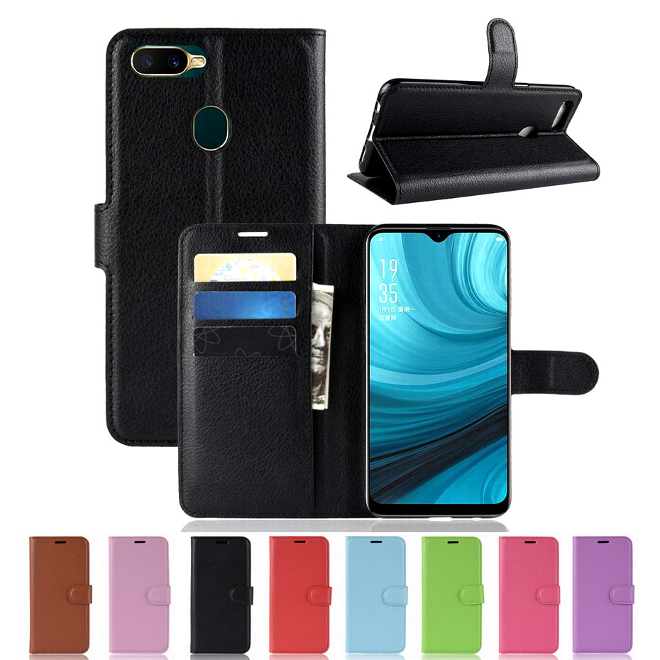 For OPPO AX7 Case OPPO AX7 Pro Case Cover Luxury PU Leather