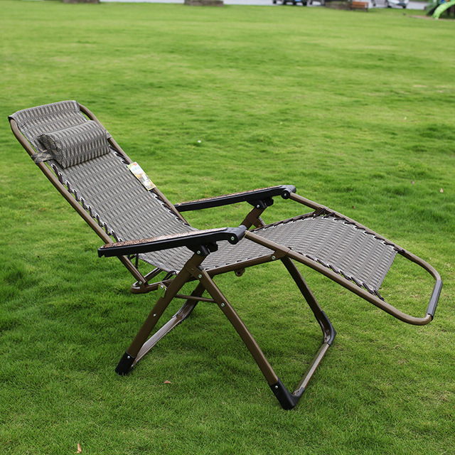 Outdoor Chiase Lounge Ajustable Tilt Angle Folding Chairs with Armrest Quick Drying Material for Summer Nap Beach Camping Pool