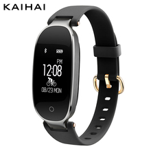 KAIHAI H68 famale smart Wristband Heart Rate Monitor Weather App Reminder Remote Sport Bracelet Watches for