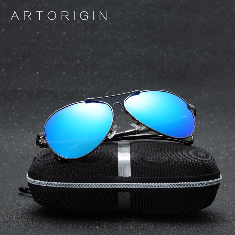 ARTORIGIN Pilot Polarized Sunglasses Men Luxury Brand Classic Mirror Sun Glasses Male With Box Aviador Masculino As Gift