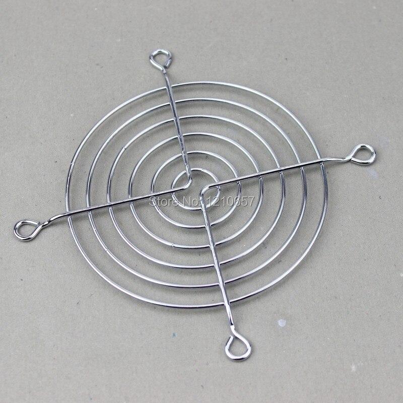 50PCS LOT Wholesale New Metal Steel 90mm 9cm Fan Protector Net Guard Grill