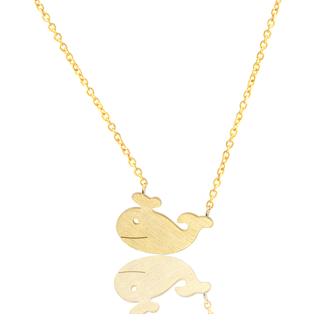 brixini.com - The Little Whale Stainless Steel Necklace