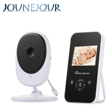 JUNEJOUR Video Baby Monitor 2.4 Inch Wireless Video Baby Camera LCD Display Baby Monitor Night Vision Temperature Monitoring baby monitor 3 2 inch lcd display 2 4ghz wireless video babies monitor nanny security camera night vision temperature monitoring