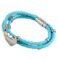 KZ 3 pearl leather bracelet boho pearl bracelet Boho bead bracelet Real pearl Jewelry friendship gift