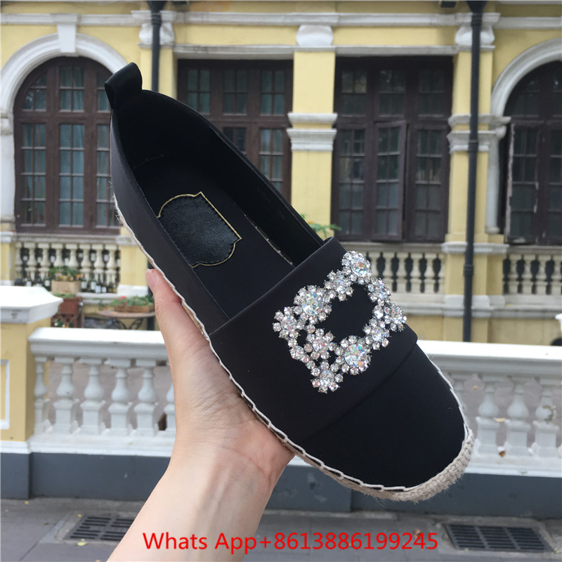 Femmes Boucle Mocassins Espadrilles Appartements Paresseux Pic Cristal Zapatillas as Femme Plate Mujer Corde Pêcheur forme Pic Sneakers Chaussures As 6xfwz6qO