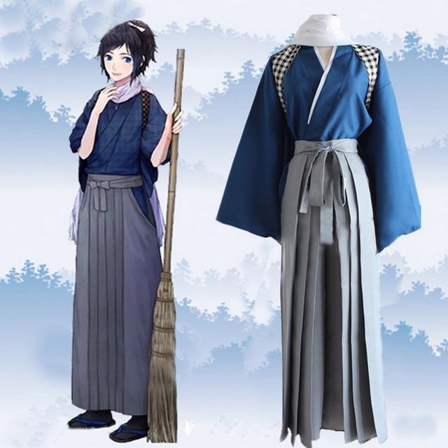 Touken Ranbu Online Game Japanese Kimono Sweep Clothing ...