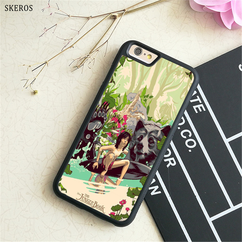 SKEROS The Jungle Book 10 phone case for iphone X 4 4s 5 5s 6 6s 7 8 6 plus 6s plus 7 & 8 plus #B735
