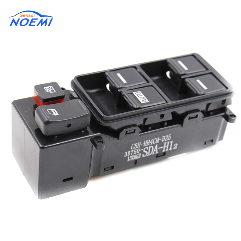 YAOPEI OEM 35750 SDA H12 For Honda Accord 2003 2007 Auto Electric Power Window Switch Master Controller Switches 35750SDAH12 in Car Switches Relays from Automobiles Motorcycles