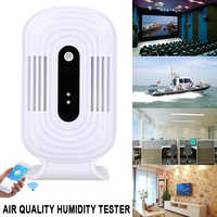 Air Quality Detector Mobile Phone Formaldehyde CO2 Analyzer 1A JQ-200 Practical Durable Household TVOC Gas Detection