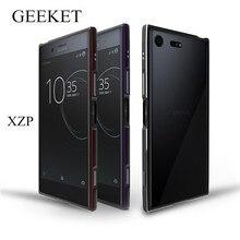 (Новый 2017) geeket чехол для Sony Xperia XZ Премиум чехол xzp защитный Рамка для Sony XZ premium 5.5 «Роскошный металлический бампер Чехол
