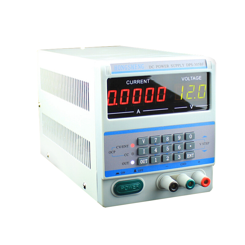 220V/110V 5Ps Display Digital Control 30V 5A DPS-305BF DC Laboratory Adjustable power supply for Laptop Repairing with Plugs cps 6011 60v 11a digital adjustable dc power supply laboratory power supply cps6011