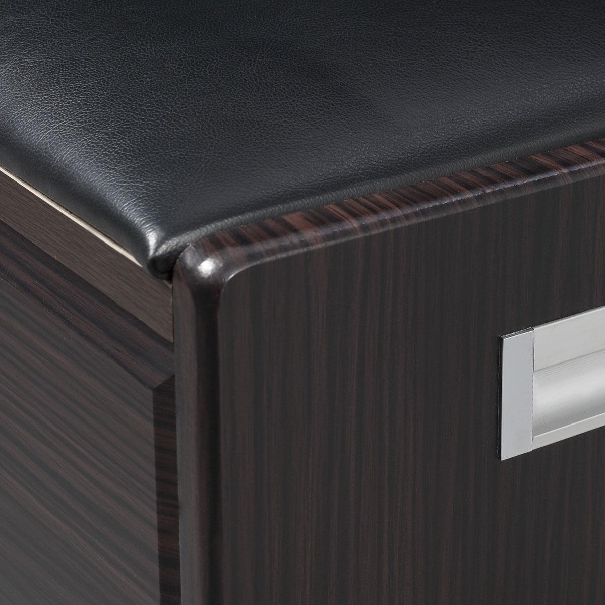 Giantex Wood Shoe Storage Ottoman Bench Modern Shoes Cabinet Closet Shelf  Entryway Multipurpose Pouffe Stool Hw49316bk