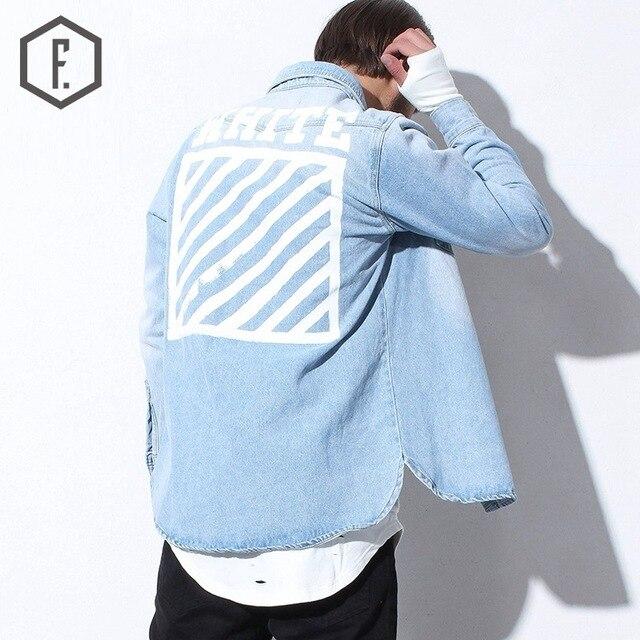 Men's Denim Jacket 2016 Brand New Fashion Vintage Irregular Hem Jeans Jackets Men Top Quality Europe Autumn Winter Style Coats