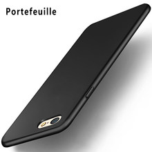 Portefeuille Luxury Ultra-thin Slim Silicone Soft TPU Case Cover Skin For iPhone 6 S 6s Capinhas Para o mobile phone Accessories(China)