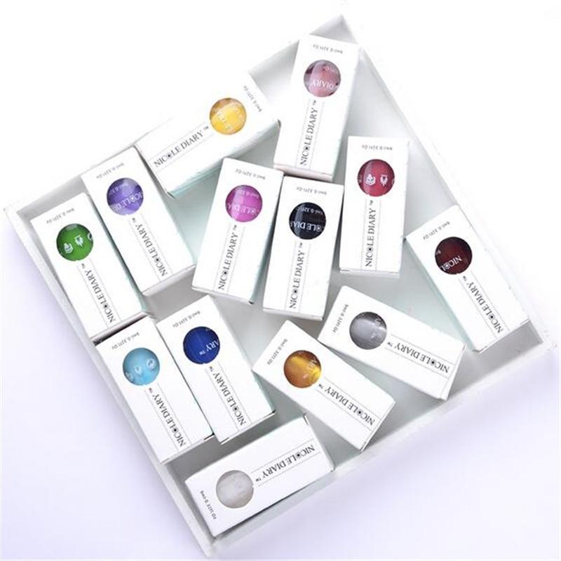 Aliexpress.com: Acheter 9 ml NICOLE JOURNAL Douce Couleur Nail Art ...