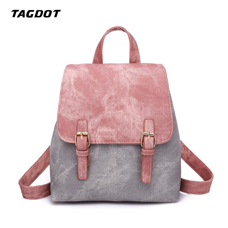 Fashion Multi color Women Backpacks PU Leather Cute Lady Backpack Causal High Quality Girl School Bag Female Mini Backpack navy cute high waisted leather mini skirt