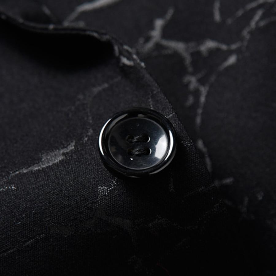 Veste Black Hommes Haute Unie Imprimer Qualité Bleu Manteau Vêtements Mens Un Standard Violet F048 Blazer Couleur Casual S 3xl Blazers Bouton DHW9EI2