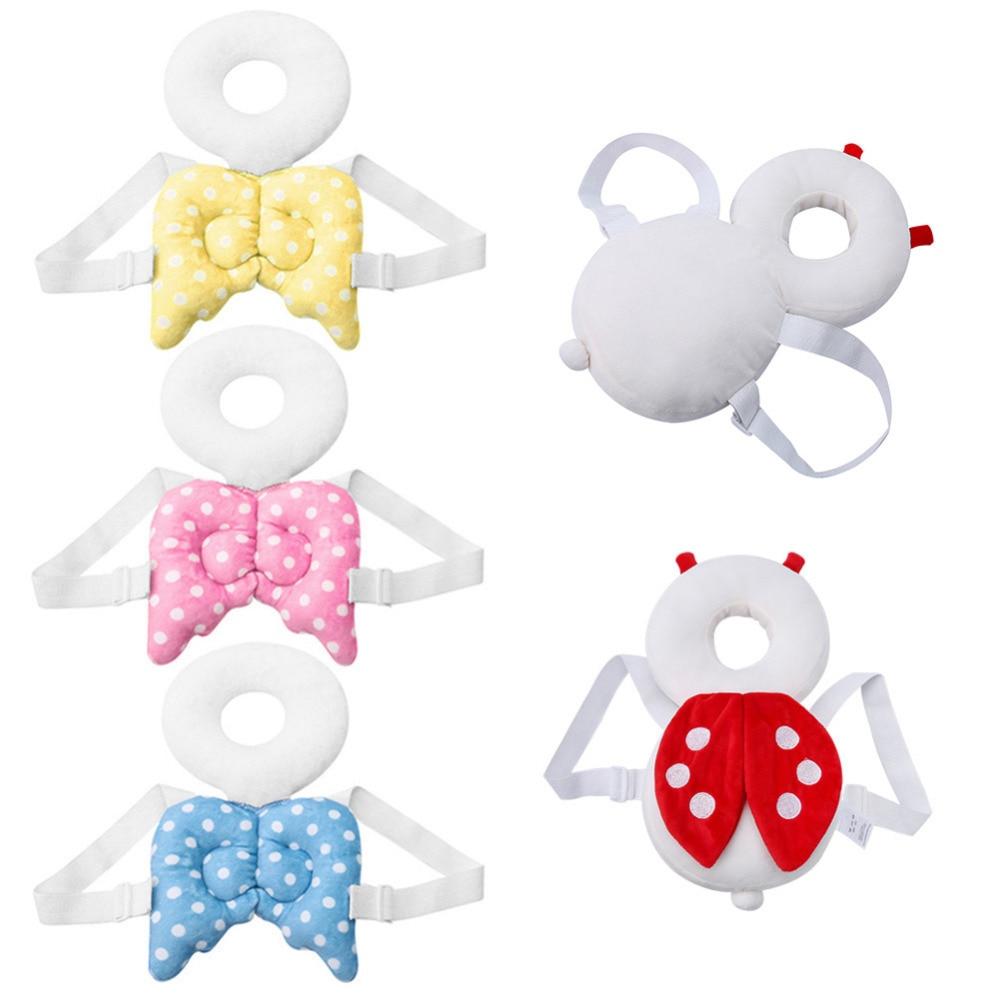 Coussin doux pour protection de la tête | Pour bébé, oreiller pour bambins, appui-tête, cou de bébé, belles ailes, résistant à l'allaitement, coussin, sac à dos