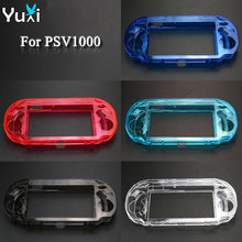 YuXi Clear Hard Case Transparent Protective Cover Shell Skin for Sony psv1000 Psvita PS Vita PSV 1000 Crystal Body Protector protective vinyl skin decal cover for ps vita psvita playstation vita portable sticker skins diamond plate