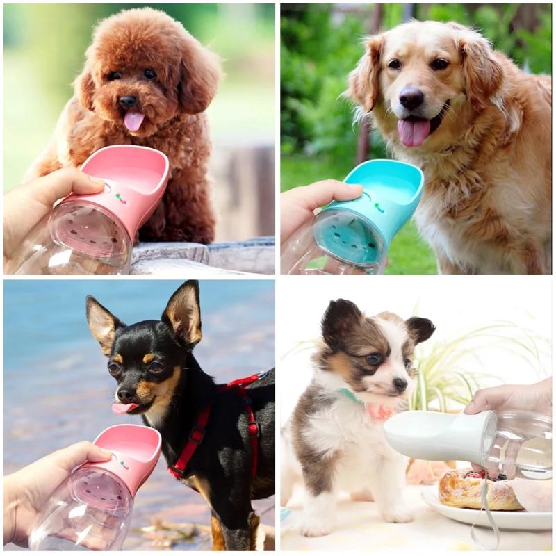 Truelove 350Ml Portable Travel Pet Dog Water Bottle Cat Bowl Feeder Dish Outdoor Drinking Bottle For Dog Water Dispenser Petshop (4)