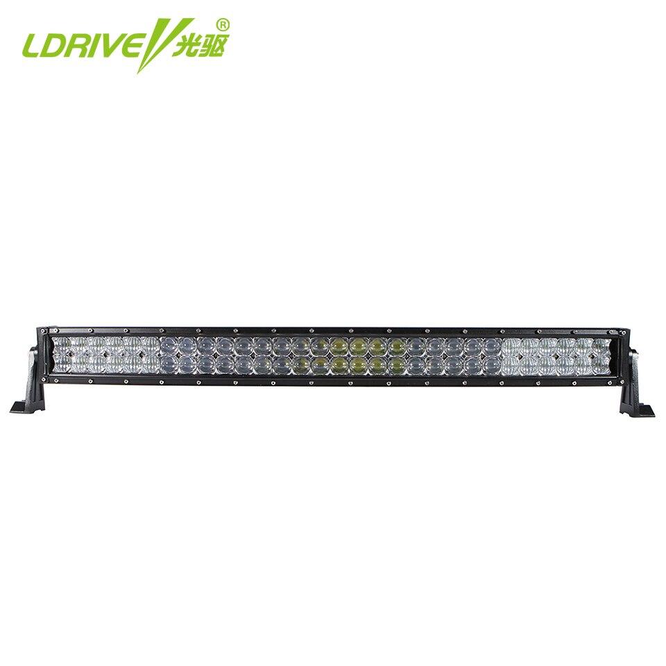Ldrive IP68 32 inch 300 Вт изогнутые <font><b>off</b></font> <font><b>road</b></font> светодиодные панели 5D светодиодный свет работы бар пятно Наводнение Combo луч для автомобиля-укладки внедорож&#8230;