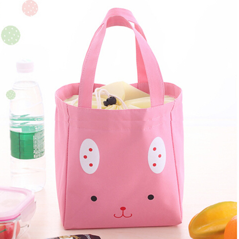 Portable Insulated Thermal Cooler Lunch Box Carry Tote Case Storage Bag