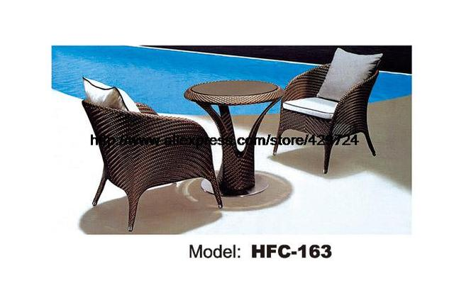 Leisure Outdoor Table Chair Set Holiday Swing Pool Hotel Garden Corner  Rattan Furniture Set Factory Low