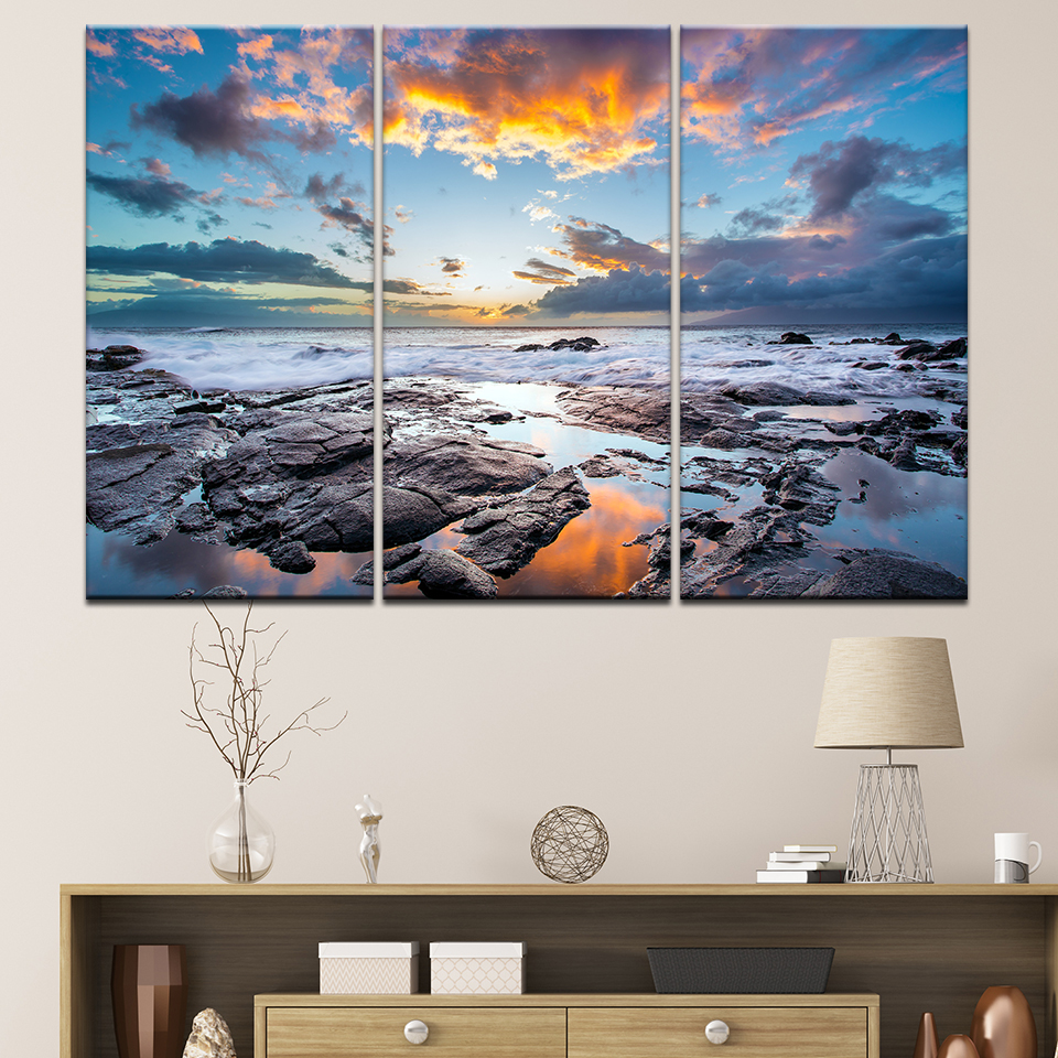 Modern Canvas Painting Frame Hd Printed Wall Art Pictures