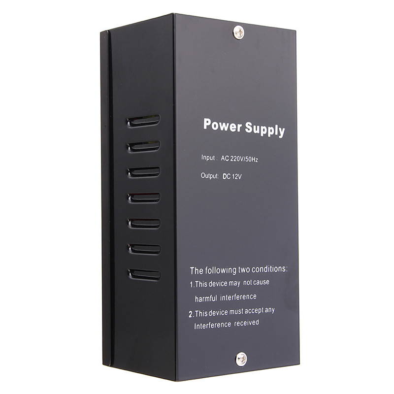 ФОТО New Door Access Control Power Supply DC 12V Access Control Transformer Open The Electric Lock Directly
