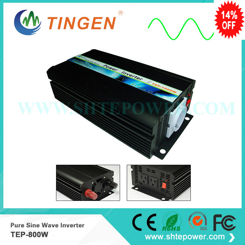 800w inverter Pure sine wave used for off grid tie system DC converter to AC output 12v to 220v 230v 240v 800watts micro inverter on grid tie for 600w windmill turbine 3 phase ac input 10 8 30v to ac output pure sine wave
