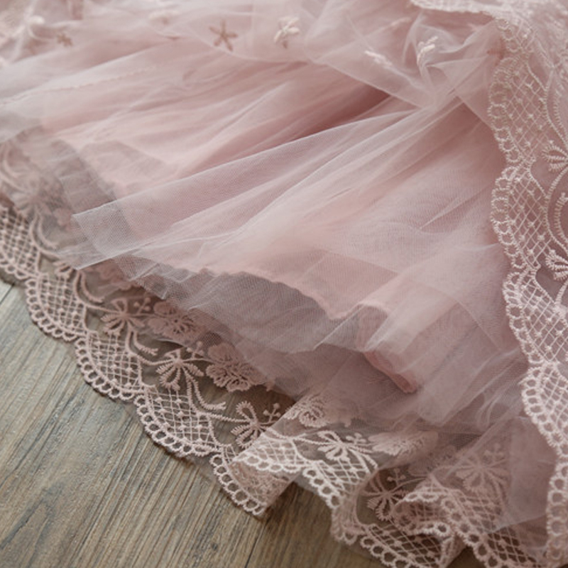 HTB1bQMGwY3nBKNjSZFMq6yUSFXad Petals Designs Girl Dress Children Party Costume Kids Formal Events Vestidos Infant Tutu Flower Dress Fluffy Wedding Gown 3 5 7T