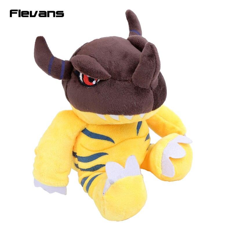 Digimon Приключения цифровой Монстры greymon плюшевые Игрушечные лошадки Agumon мягкие Куклы дети Игрушечные лошадки подарки на день рождения 10 25 см