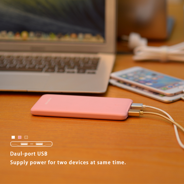 5000mAh Power Bank Portable Battery