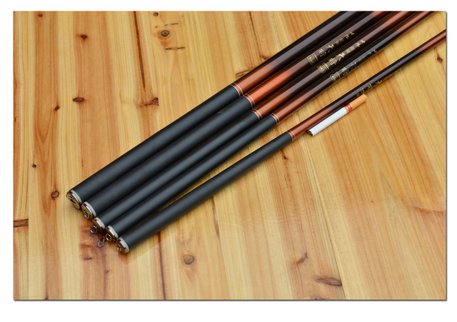 Carbon hand pole fishing rod 5.4 meters streams pole ultrafine ultra-light fishing tackle