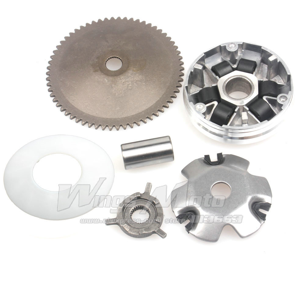 Variator Kit GY6 Moped Scooter 139QMB Engine BAJA JONWAY LANCE BMX 6g rollers