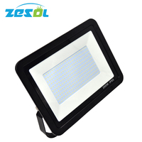 Zesol 200 Вт Светодиодный прожектор 220 240 В 110 В ультра олова наружного освещения Отражатели Прожекторы 10 шт./лот
