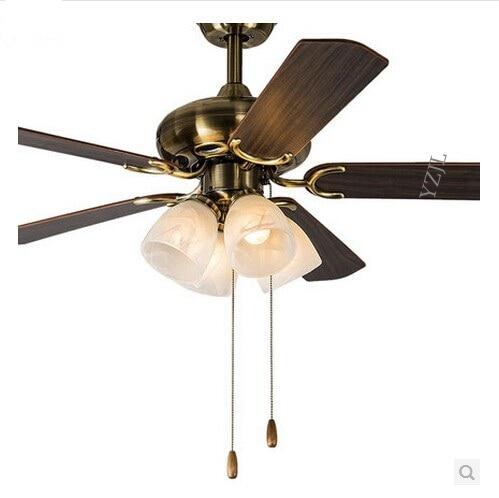 antique decorative ceiling fan light dining room living room bedroom ceiling lights fan 47inch modern e27 - Decorative Ceiling Fans
