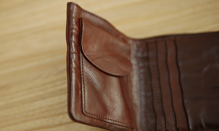 LAN men wallets distressed wallet brand handmade coin purses holders