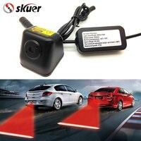 Free Shipping Car Styling Anti Collision Rear End Car Laser Tail 12V LED Car Fog Light