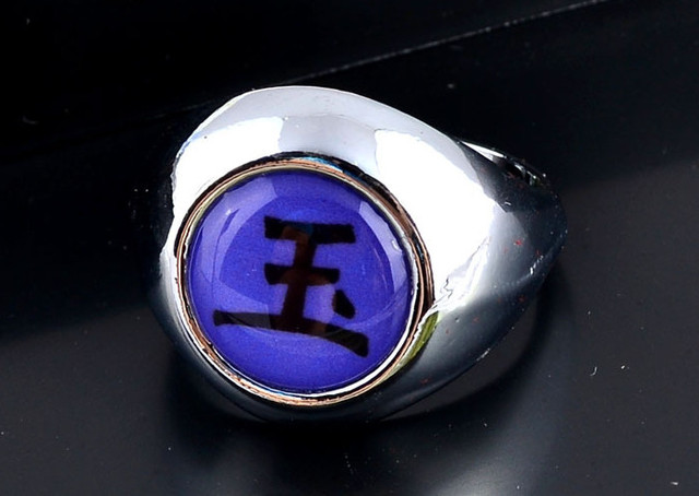 Naruto Symbol Rings (Assorted Styles)