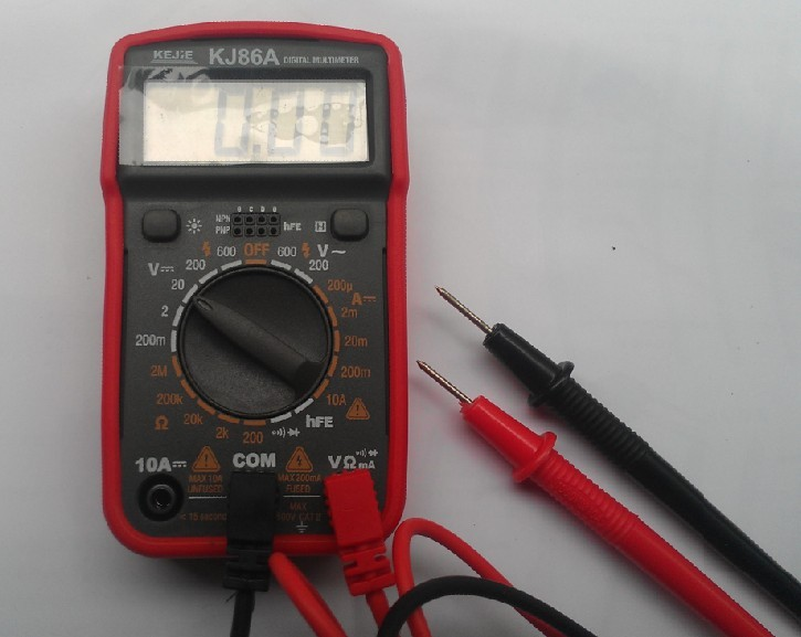 ФОТО FREE SHIPPING digital multimeter detector full function with background lamp battery