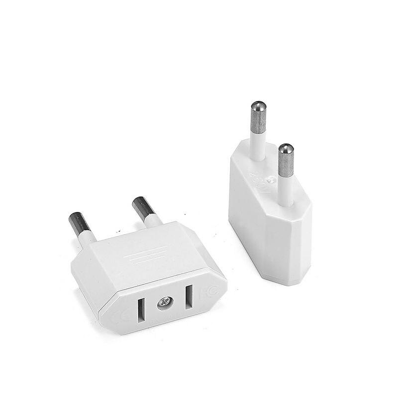 New CN US To EU Plug Adapter AC Converter American China To EU Euro Europe Travel Power Adapter Type C Plug Electrical Socket
